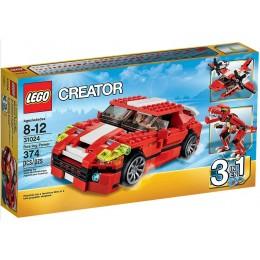 LEGO Creator 31024 Czerwone Konstrukcje 3w1