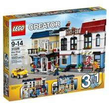 LEGO Creator 31026 Miasteczko Kawiarnia Rowery 3w1