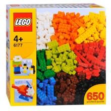 LEGO 6177 BRICKS KLOCKI PODSTAWOWE DELUXE 650 szt.