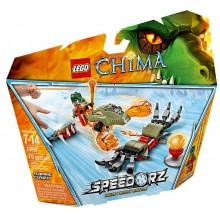 Klocki LEGO Chima 70150 Płonące Pazury