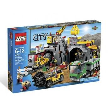 Lego City 4204 Kopalnia Duży Zestaw