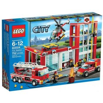 Lego City 60004 Duża Remiza Strażacka