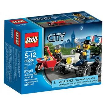 Lego City 60006 Quad Policyjny