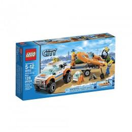 Lego City 60012 Samochód Terenowy z Łodzią