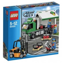Lego City 60020 Ciężarówka Towarowa