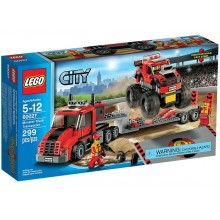 Klocki Lego City 60027 Transporter monster trucków