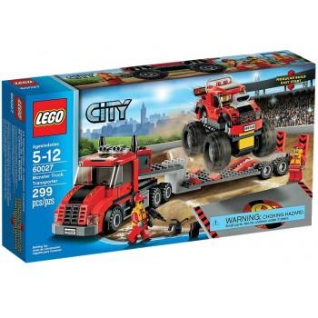 Klocki Lego City 60027 Transporter monster trucków