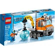 Klocki Lego City 60033 Arktyczny Łazik Lodowy