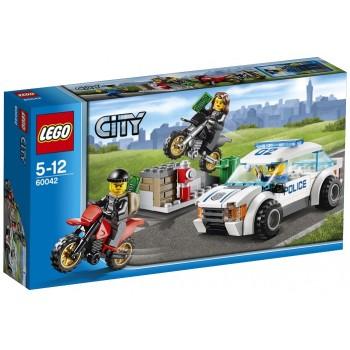 Klocki Lego City 60042 Superszybki pościg policyjny
