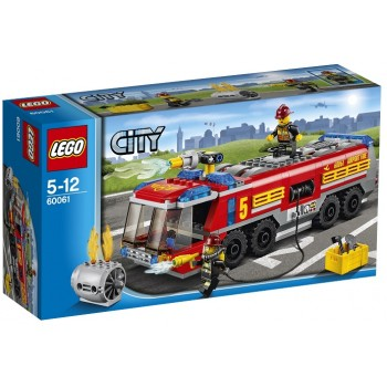 Klocki Lego City 60061 Lotniskowy wóz strażacki