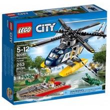 Klocki Lego City 60067 Policja Pościg Śmigłowcem