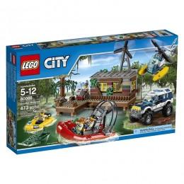 Klocki LEGO CITY 60068 Policja - Kryjówka Rabusiów