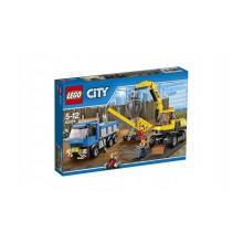 Klocki Lego City 60075 Rozbiórka Koparka i Ciężarówka