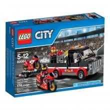 Klocki Lego City 60084 Transporter Motocykli