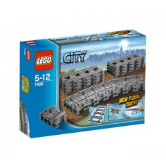 Klocki LEGO® City 7499 Tory proste i elastyczne
