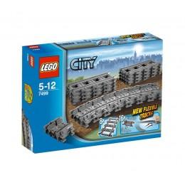 Klocki LEGO CITY 7499 Tory proste i elastyczne