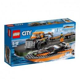 Klocki LEGO CITY 60085 Superpojazdy - Terenówka z Motorówką