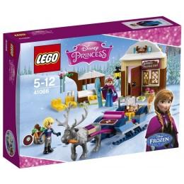 Klocki LEGO DISNEY 41066 Saneczkowa przygoda Anny i Kristoffa