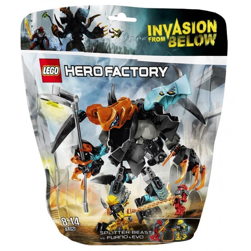 Lego Hero Factory 44021 Bestia Spillera Vs Furno I Evo Sklep