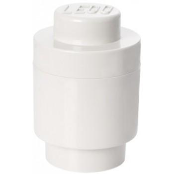 LEGO Pojemnik Okrągły na zabawki Biały