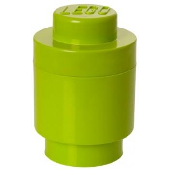 LEGO Pojemnik Okrągły na zabawki Limonka