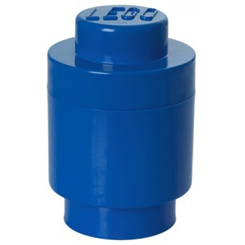 LEGO Pojemnik Okrągły na zabawki Niebieski