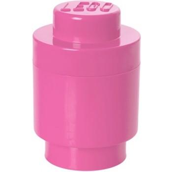 LEGO Pojemnik Okrągły na zabawki Różowy