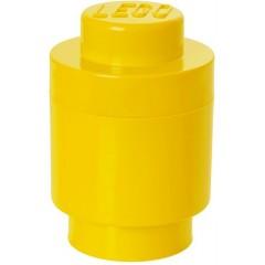 LEGO Pojemnik Okrągły na zabawki Żółty