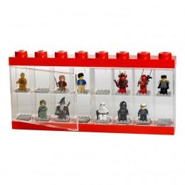 LEGO Pojemnik Sorter na 16 Figurek CZERWONY