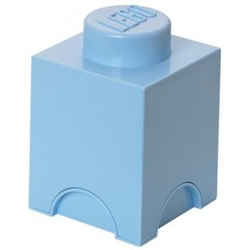 LEGO Pojemnik 1 na zabawki 12,5 x 12,5 cm Błękitny