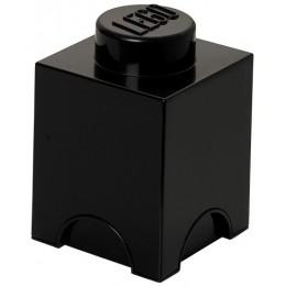 LEGO Pojemnik 1 na zabawki 12,5 x 12,5 cm Czarny