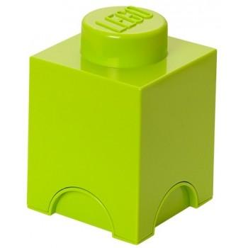 LEGO Pojemnik 1 na zabawki 12,5 x 12,5 cm Limonka