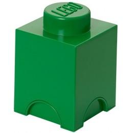LEGO Pojemnik 1 na zabawki 12,5 x 12,5 cm Zielony