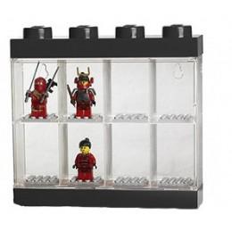 LEGO Pojemnik Sorter na 8 Figurek CZARNY