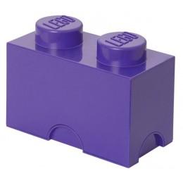 LEGO Pojemnik 2 na zabawki 12,5 x 25 cm Fioletowy