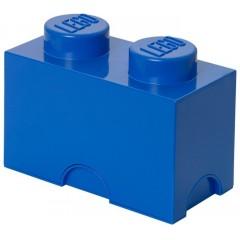 LEGO Pojemnik 2 na zabawki 12,5 x 25 cm Niebieski