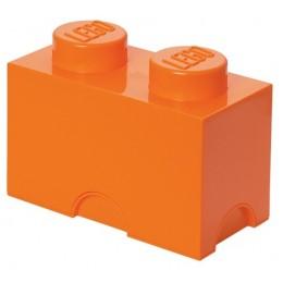 LEGO Pojemnik 2 na zabawki 12,5 x 25 cm Pomarańczowy