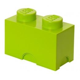 LEGO Pojemnik 2 na zabawki 12,5 x 25 cm Limonka