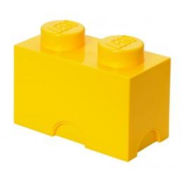 LEGO Pojemnik 2 na zabawki 12,5 x 25 cm Żółty