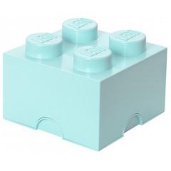 LEGO Pojemnik 4 na zabawki 25 cm Aqua