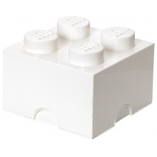 LEGO Pojemnik 4 na zabawki 25 cm Biały