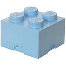LEGO® Pojemnik 4 na zabawki 25 cm Błękitny