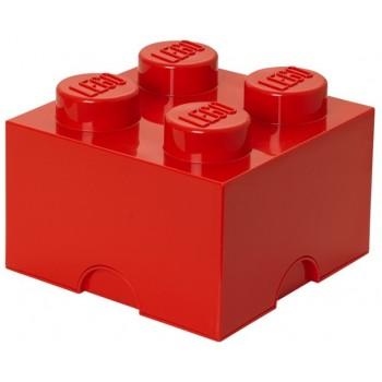 LEGO® Pojemnik 4 na zabawki 25 cm Czerwony