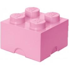 LEGO® Pojemnik 4 na zabawki 25 cm Jasny Róż