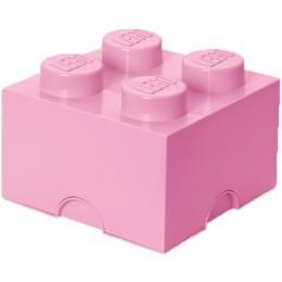 LEGO Pojemnik 4 na zabawki 25 cm Jasny Róż