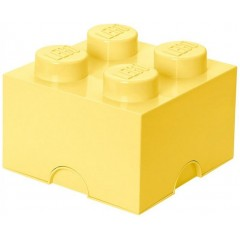 LEGO Pojemnik 4 na zabawki 25 cm Piaskowy