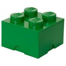 LEGO Pojemnik 4 na zabawki 25 cm Zielony