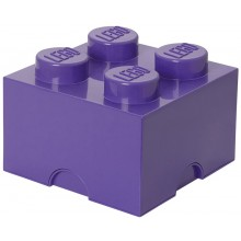 LEGO® Pojemnik 4 na zabawki 25 cm Fioletowy