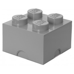 LEGO® Pojemnik 4 na zabawki 25 cm Szary