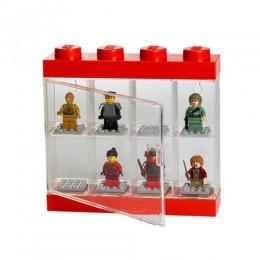 LEGO Pojemnik Sorter na 8 Figurek CZERWONY